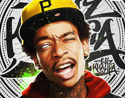 Wiz Khalifa (Gif/Poster)