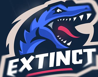 Extinct eSports Mascot Logo Project