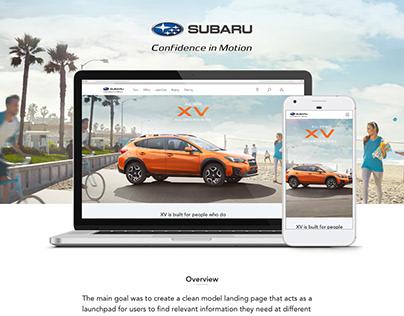 Subaru XV model launch