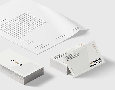 Urban Architects Brand Identity & Web design