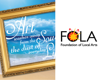 Logo, Branding and Invites for Fondation of Local Arts