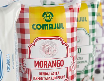 COMAJUL - Nova Linha de Embalagens