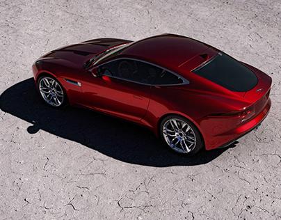Jaguar F-Type - Full CGI