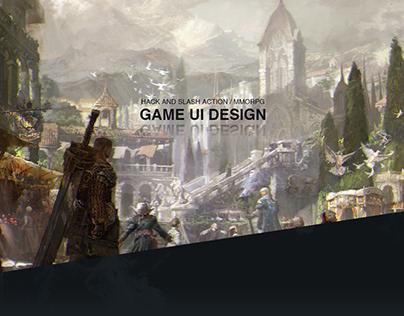 Game UI - Hack and Slash Action MMORPG
