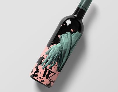 Wino // wine bottle design