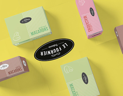 Brand & Packaging Design - Le Fournier Partisserie