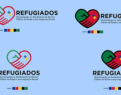Logo p/ Seminário: REFUGIADOS