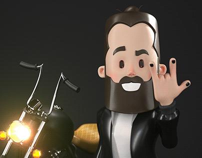 Self Portrait - 3D Character