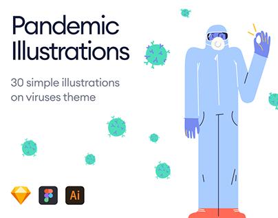 Pandemic Illustrations