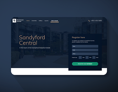 Sandford Central Website