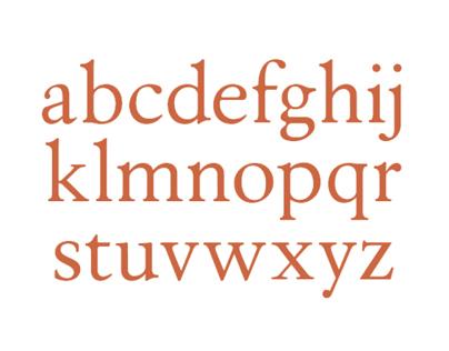 Virtude – Typeface