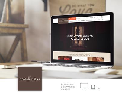 Nomad et Sens - Magento website
