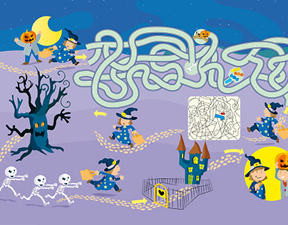 Halloween, play and fun!