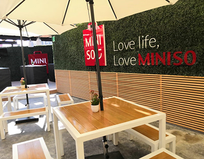 MINISO Mexico City Flagship Store. Showroom/Terrace