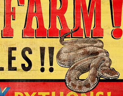 Snake Farm Billboards