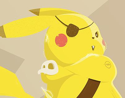 Pokémon Pirate Pikachu