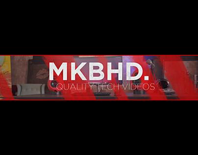 MKBHD Channel Art