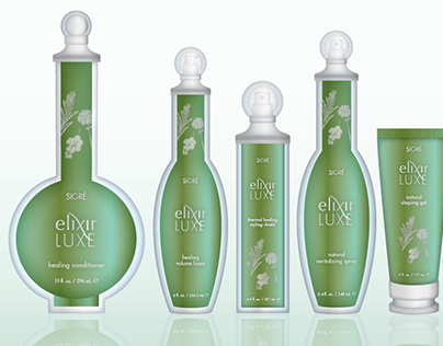 Haircare Packaging Design