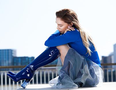 London fashion shoot