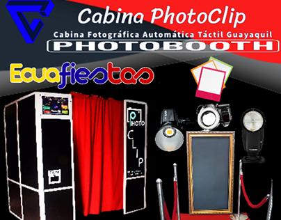 Cabina Fotográfica Automática PhotoClip Guayaquil