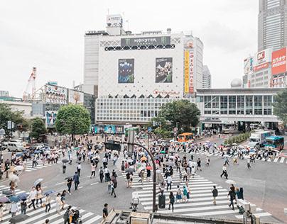 Shibuya Crossing - Tokyo - Japan (2016)