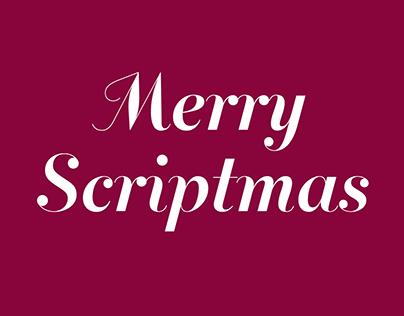 Merry Scriptmas