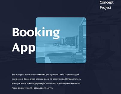Booking app - concept