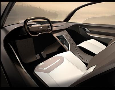 Genesis 2030 concept interior