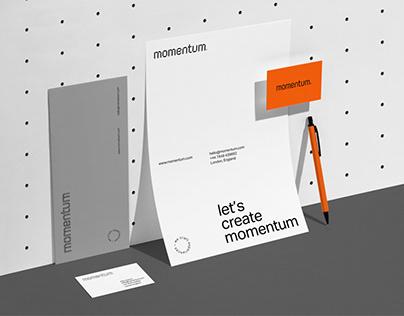 Momentum Design - Brand Identity