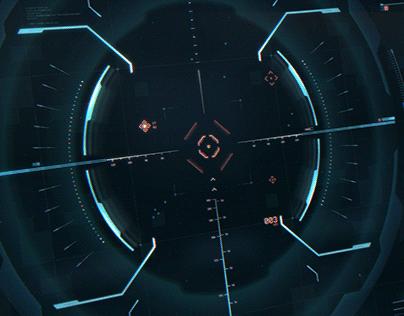 Sniper Scope FUI Concept