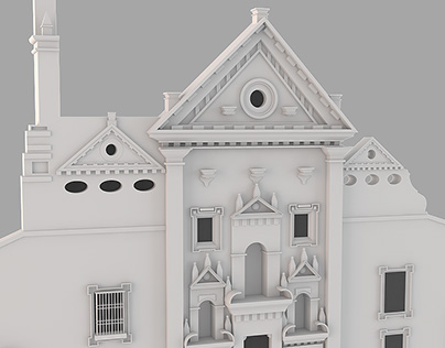 Modelling Front Church