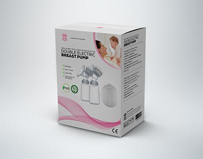 RB Breast Pump Package Design