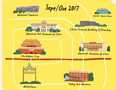 Beijing Art Map