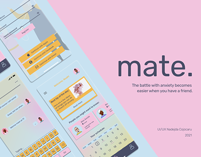mate. - app for anxiety support