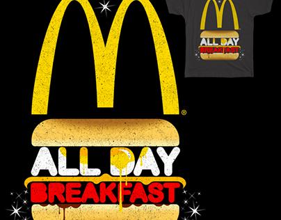 "Threadless ""All Day Breakfast "" t shirt challenge."