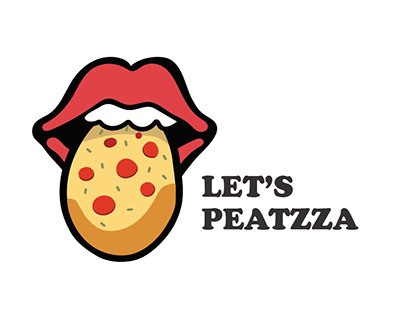 Let's Peatzza- Social Group Club Branding