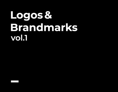 Logos & Brandmarks Vol.1
