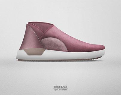 Illustration Yeezy Adidas 350 On V2 Behance CrdBexoW