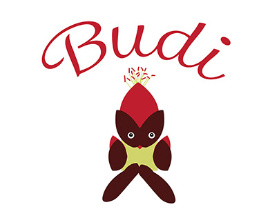 Budi Logo for Maple Syrup Export for Chinese Market