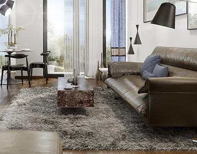 CGI _ 3d and interiordesign concept
