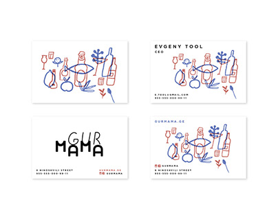 logo and branding design for a grocery company