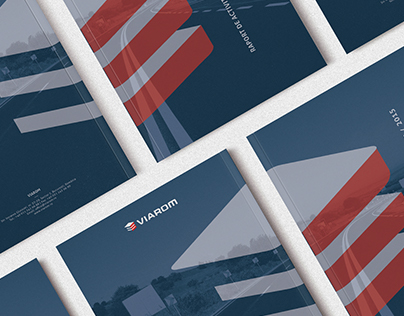 Viarom 2015 Annual Report - Brochure Design