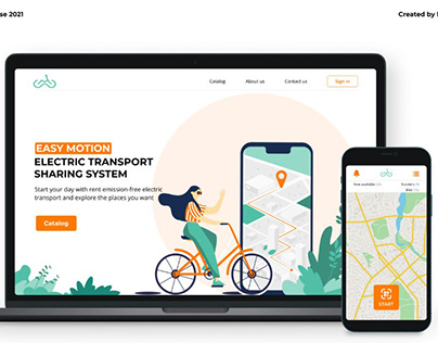 Easy motion - electric transport sharing system