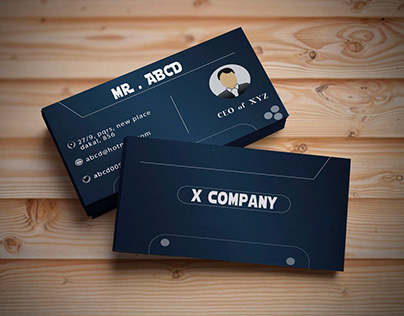 visiting card design for you