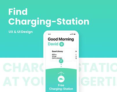 Find Charging-Station App Concept