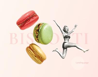 Biscotti - Landing page