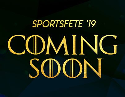 Sportsfete 19. Coming Soon.