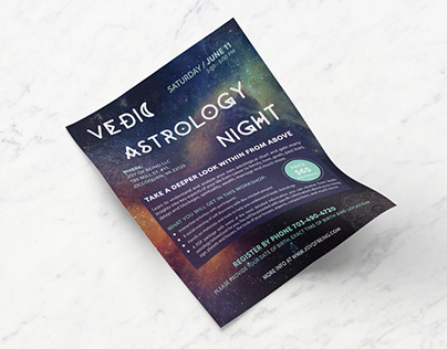 Vedic Astrology Night Event