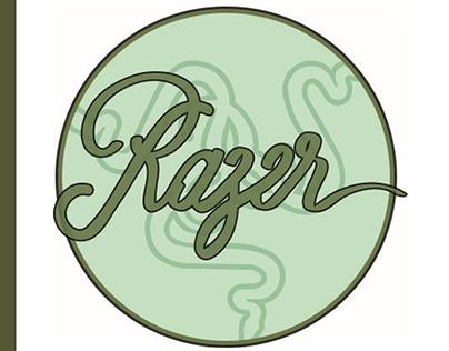 Razer on Art Nouveau | Mockup, Facebook and Instagram