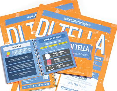 Cuadernillo + afiche grado 2014   Di Tella